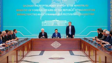 Askar Mamin introduces new ministers of foreign affairs, industry and infrastructure development
